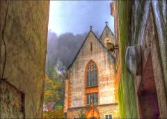 Eglise catholique Saint-Bernard-de-Menthon -  Ferrette, France