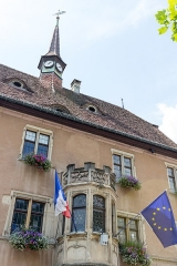 Hôtel de ville -  Town hall of Guebwiller, Alsace, France