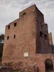 Ruines des châteaux de Weckmund et de Wahlenbourg -  XIIe e