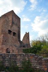 Ruines des châteaux de Weckmund et de Wahlenbourg -  Castle Ruins near Colmar, France