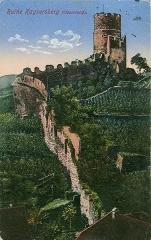 Château dit Schlossberg et enceinte - Deutsch: Feldpostkarte, datiert 19.1.1916. Beschriftung: