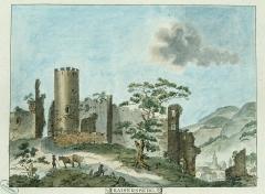 Château dit Schlossberg et enceinte -
