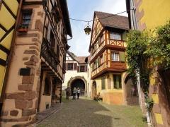 Maison dite maison Keith - Français:   Alsace, Haut-Rhin, Kaysersberg, Maisons, impasse du Père-Staub.