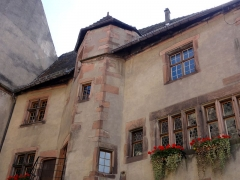 Immeuble -  Alsace, Haut-Rhin, Kaysersberg, 62 rue du Général-de-Gaulle, Musée de la ville