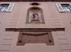 Ancien monastère -  Alsace, Haut-Rhin, Kaysersberg, Rue du Couvent, Ancien couvent de franciscains (1783)