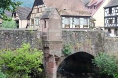 Pont sur la Weiss et sa chapelle -  Kaysersberg 10