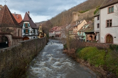 Tour dite des Sorcières dans le jardin de l'Hôtel Chambord -  Kaysersberg, Alsace