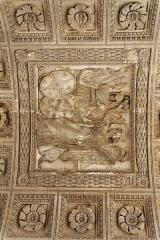 Vestiges d'une installation de bain romaine -  L'arc de Triomphe du Carrousel à Paris.