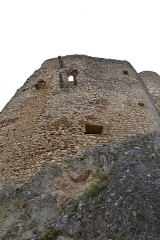 Ruines du château de Landskron -  2017-04-11 Landskron 033