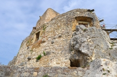 Ruines du château de Landskron -  2017-04-11 Landskron 044