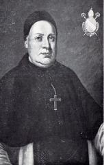 Ancienne abbaye cistercienne de Lucelle - English: Portrait of Grégoire Girardin, abbé de Lucelle (1751-1790).