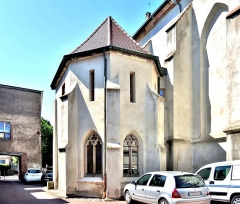 Ancienne abbaye - Français:   Vue extérieure de la chapelle de l\'ancienne abbaye de Masevaux. Haut-Rhin
