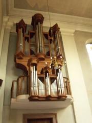 Eglise catholique Saint-Martin -  Masevaux, église Saint-Martin, orgue de chœur construit par Curt Schwenkedel en 1973.