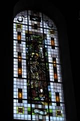 Eglise catholique Saint-Martin - Deutsch: Kirche Saint-Martin in Masevaux im Département Haut-Rhin (Elsass/Frankreich), Bleiglasfenster, Darstellung:?