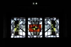 Eglise catholique Saint-Martin - Deutsch: Kirche Saint-Martin in Masevaux im Département Haut-Rhin (Elsass/Frankreich), Bleiglasfenster