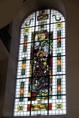 Eglise catholique Saint-Martin - Deutsch: Kirche Saint-Martin in Masevaux im Département Haut-Rhin (Elsass/Frankreich), Bleiglasfenster, Darstellung: Johannes der Täufer