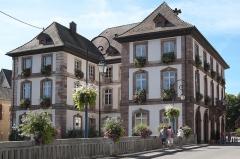 Hôtel de ville - Deutsch: Hôtel de Ville (Rathaus) in Masevaux im Département Haut-Rhin (Elsass/Frankreich)