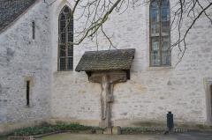 Chapelle Saint-Jean -  Chapelle Saint Jean, Commanderie d'hospitaliers de Saint-Jean-de-Jérusalem, actuellement collection lapidaire du musée historique, Croix de Pfastatt