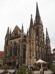 Temple réformé Saint-Etienne - English: Mulhouse Temple Saint-Etienne