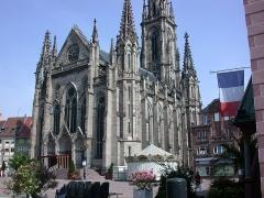 Temple réformé Saint-Etienne - English: St Stephen's Church of Mulhouse (France)