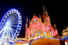 Temple réformé Saint-Etienne -  Marché de Noël de Mulhouse