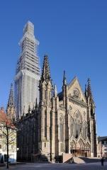 Temple réformé Saint-Etienne - Deutsch: Mulhouse: Temple Saint-Étienne