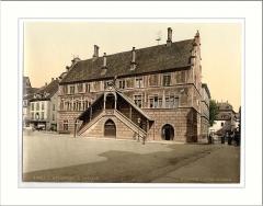 Ancien hôtel de ville, actuellement Musée historique -  Hotel de Ville (town hall) Mulhausen Alsace Lorraine Germany