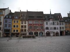 Ancienne maison Mieg - Deutsch: Altstadt/Place de la Réunion, Mülhausen, Elsass, Frankreich