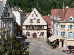 Ancien hôtel de ville -  La Mairie de Munster et son environnement