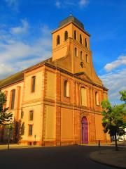 Eglise catholique Saint-Louis - Français:   Eglise Neuf Brisach