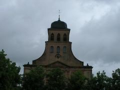 Place d'Armes Général-de-Gaulle (anciennement Place Centrale) - Français:   Église Saint-Louis à Neuf-Brisach (Haut-Rhin, France).