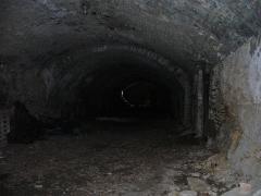 Ruines du château de Morimont - English: Vaulted cellar of Castle Morimont