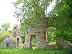 Ruines du château de Morimont - English: Castle Morimont - residence