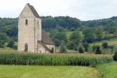 Chapelle Saint-Martin (chapelle du cimetière) - English: Church of Saint-Martin-des-Champs at Oltingue, Alsace, France