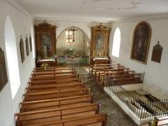 Chapelle Saint-Martin (chapelle du cimetière) - English: Saint-Martin des Champs church in Oltingue, Haut-Rhin, France