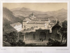 Ancienne abbaye de Pairis - French painter and lithographer