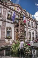 Fontaine -  Hôtel de Ville
