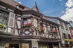 Maison dite des Ménétriers -  Maison dite des Ménétriers du XVII siècle