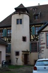 Maison - Français:   lors de la Sortie photo à Aubure de WikiFr en déc 2014.