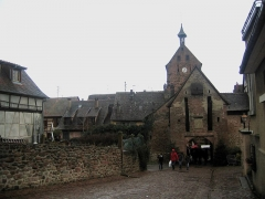 Anciennes fortifications -  Alsace Riquewihr Obertor