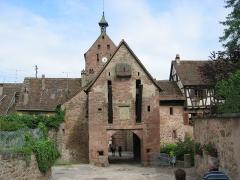 Anciennes fortifications - Français:   Riquewihr - Village de caractère - Alsace - France