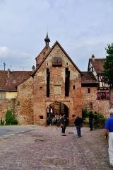 Anciennes fortifications - Deutsch: Oberes Tor, Reichenweiher, Elsass, Frankreich