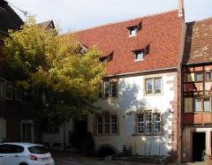 Ancien hôpital - L'ancienne église Saint-Erard à Riquewihr, Rue des Trois Églises