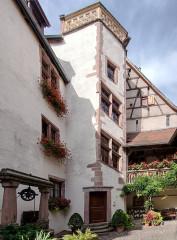 Abbaye d'Autrey - Deutsch: Haus der Abtei Autrey