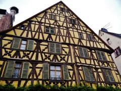 Immeuble - Deutsch: Altstadt von Reichenweiher, Elsass, Frankreich