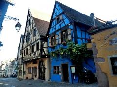 Maison à l'Ours noir -  Риквир, Франция