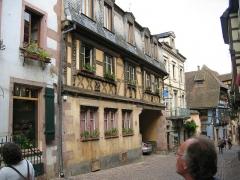 Maison dite à l'Etoile - Français:   Riquewihr - Village de caractère - Alsace - France