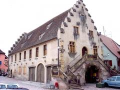 Ancienne halle au blé - Français:   Ancienne halle aux blés. Musée actuellement Rouffach. Haut-Rhin.