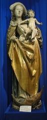 Ancienne halle au blé - Français:   Alsace, Haut-Rhin, Rouffach, Musée du Baillage(Halle aux blés), place de la République. Vierge à l\'enfant dite \