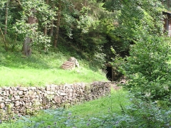 Anciennes mines d'argent du massif de Neuenberg -  Entrée de la mine Gabe Gottes 193
